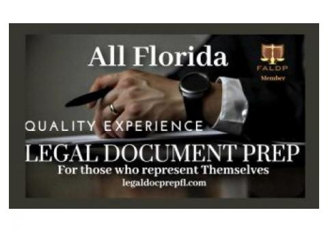 All Florida Legal Document Preparation
