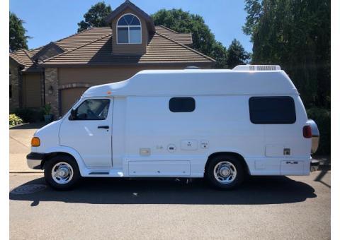 RV 1999 Dodge Pleasure Way luxury camping van