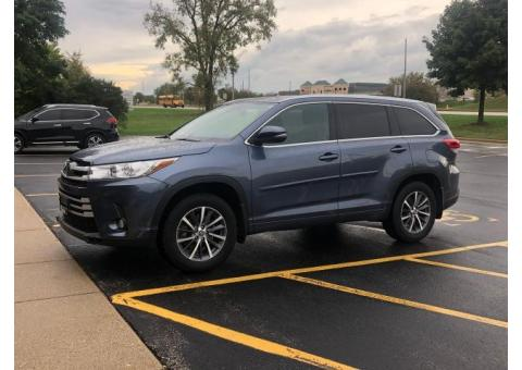 2018 Toy Highlander XLE AWD